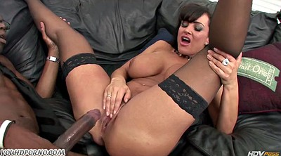Lisa ann, Black boobs, Ann