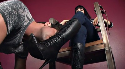 Boots, Foot worship