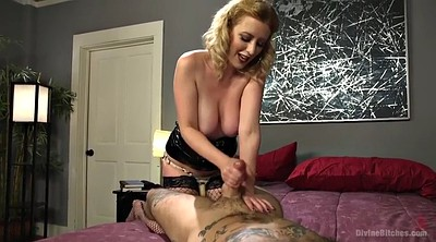 Femdom handjob, Face sitting, Facesit, Hairy milf, Mistress handjob, Hairy blonde
