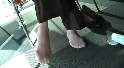 Feet, Library, Face
