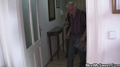 Young couple, Old couple, Mature seduced, Mature couple
