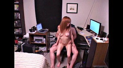 Red, Red milf, Red head, Skinny anal