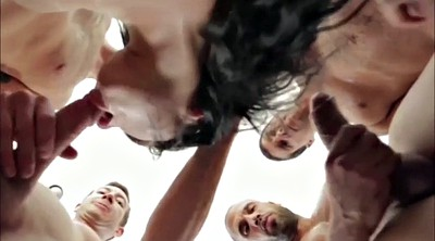 Creampie gangbang, Deep anal, Adriana chechik, Group creampie, First gangbang, Double blowjob