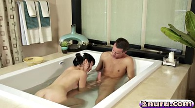 Japanese massage, Shower