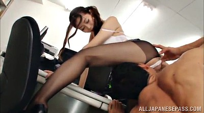 Asian gangbang, Asian office
