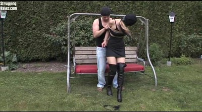 Submissive, Hogtied, Submission, Submissed, Outdoors bondage