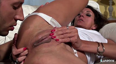 French mature, Face fucking, Deep anal, Pierced, French mature anal