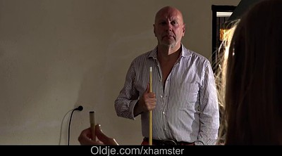 Daddy, Old dad, Teen pussy show