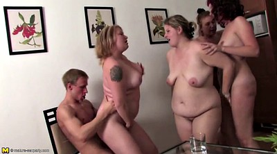 Milf party, Group mature, Young boy, Mature boy, Granny group, Moms with boys