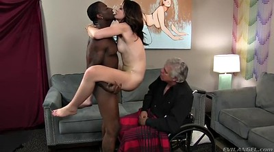 Femdom cumshot, Young and old, Hairy mature, Young femdom, Sitting, Mature hairy
