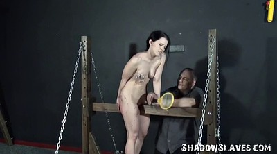Slave, Toy, Electro, Shock, Cruel, Teen bdsm
