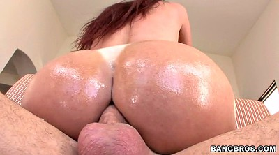 Milf, Oiled up, Anal oil, Oil ass