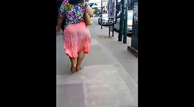 Street, Walking, Walk, Street girl, Bbw public