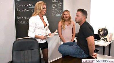 Bank, Students, German mature