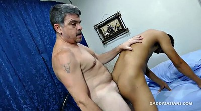 Asian old, Young dad, Old asian, Asian interracial