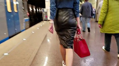 Leather, Skirt, Leather skirt