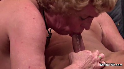 Old couple, Mature couple, German granny, Mature casting, German casting, Casting mature