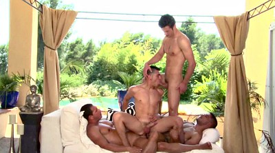 Group, Muscle, Two, Anal foursome