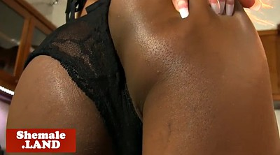 Solo ebony, Jerking off