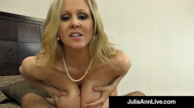 Mouth, Julia, Julia ann, Hand, Mature feet