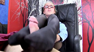 Black pantyhose, Black foot fetish
