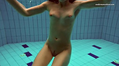 Flexible, Russian solo, Underwater, Swim, Swimming, Swimming pool