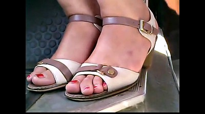 Bus, Mature foot, Feet hd