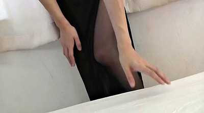 Nylon, Japanese black, Asian black, Japanese masturbation, Japanese pantyhose