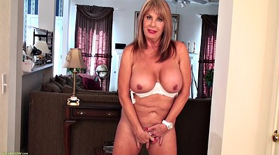 Wet, Busty, Mature orgasm, Solo grannies