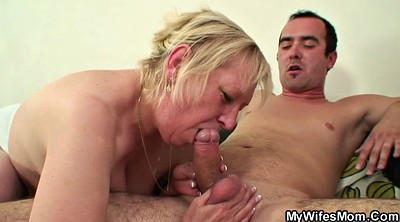 Old granny, Mature wife, My mother, Granny seduce