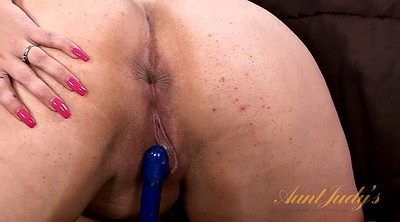 Milf solo fingering, Toy, Tube, Chubby fingering, Big chubby