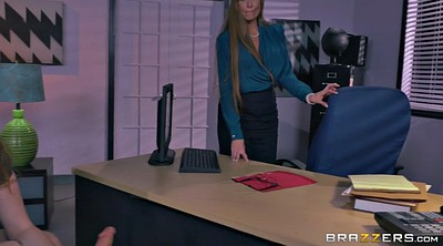 Office threesome, In the office, Darla crane