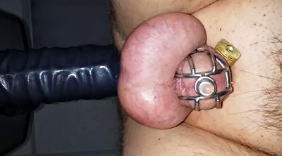 Prostate, Chastity, Cock milking