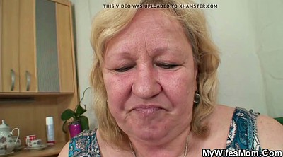 Granny, Huge boobs, Boobs suck