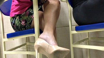 High heels, Candid, Candid feet, Tatoo, Shoeplay, Candids