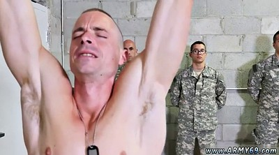 Train, Training, Army, Public anal, Naked public, Gay group