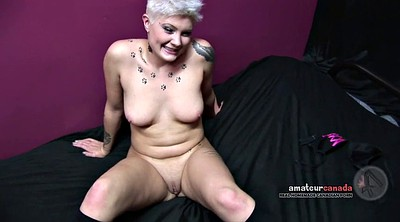 Strapon, Dildo, Short hair