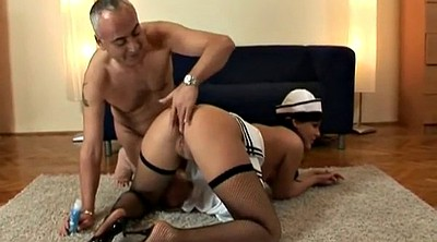 Old man, Young anal