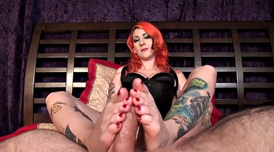 Footjob, Scarlett, Foot tattoo