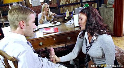 Danny d, Rebecca, Watched, Office threesome, Leigh, Danny