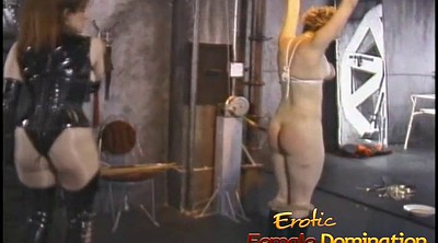 Tied up, Femdom spanking, Squeeze