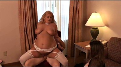 Wife, Bbw wife, Blonde wife, Wife threesome, Watching wife, Fuck bbw