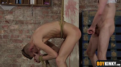 Tied up, Tied, Gay spanking, Gay slave