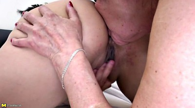 Lesbian old and young, Grandmother, Old and young, Lesbian mature