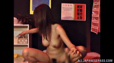 Handjob, Hairy asian milf
