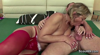 Mom and son, Step mom, Seduce, Old and young, Son mom, Mom fucks son