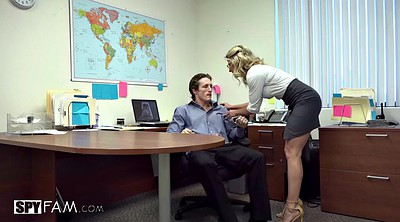Office, Cory chase, Stepson, Chase, Big cock anal