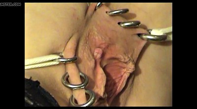 Big clit, Ring, Piercing bdsm