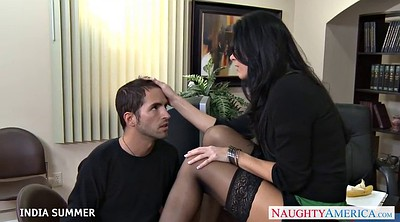 India, India summer, Summer, Desk, Indian office, Indian blowjob