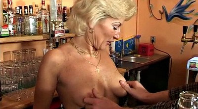 Mature orgasm, Table, Bar